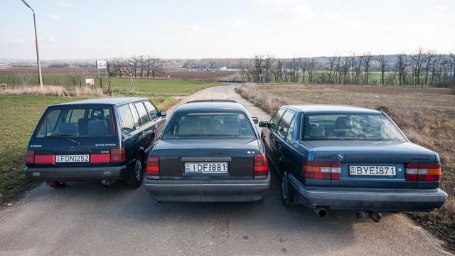 Kényszer szülte a képet, a Volvo ekkor már mozdulatlanná dermedt a Hall-jeladó hibája miatt