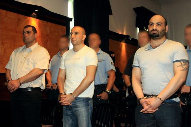 A Cozma ügy vádlottai az ítélethirdetésen