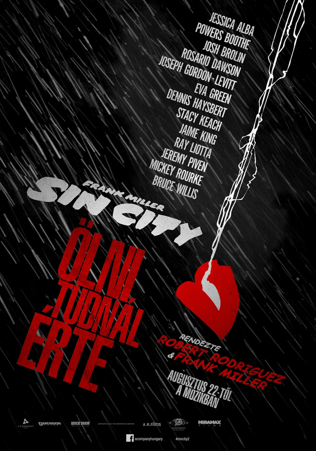 SinCity teaser plakat