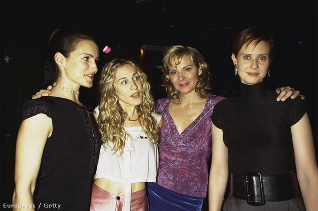 Kristin Davis, Sarah Jessica Parker, Kim Cattrall, Cynthia Nixon