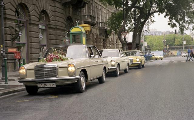 Valamennyi közül a kedvenc autóm volt a kétszínű állólámpás. Nyolc évig nyúztam, akkor pusztult el, amikor az első fiam jött