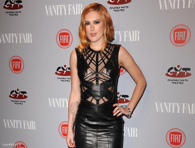 Stacy Keibler a Vanity Fair és a FIAT Oscar-előpartiján február 25-én