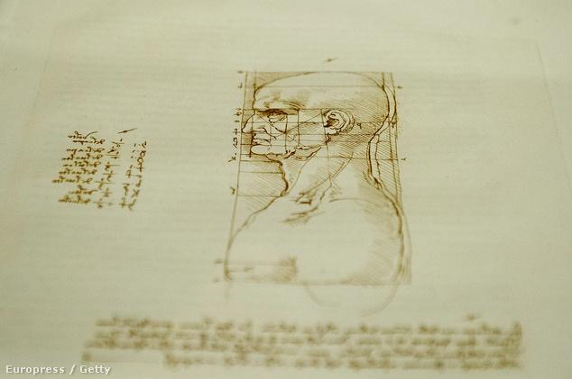 Leonardo da Vinci egyik rajza