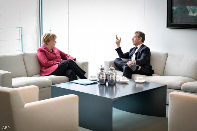 Angela Merkel és Nicolas Sarkozy