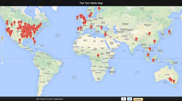 tom waits map