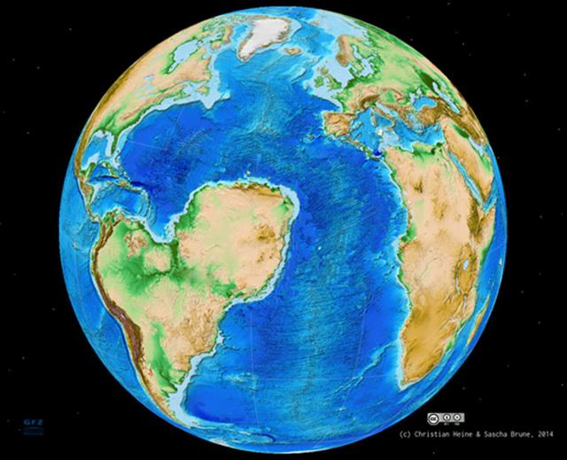 Így nézett volna ki Dél-Amerika és Afrika