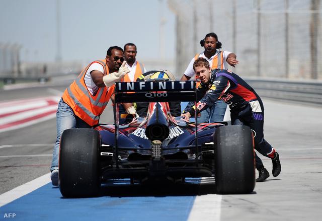 Vettel maga tolta vissza a Red Bull-Renault-t