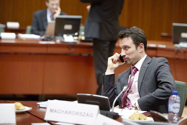 Orbán Gábor a magyar nemzetgazdasági minisztérium adó- és pénzügyekért felelős államtitkára