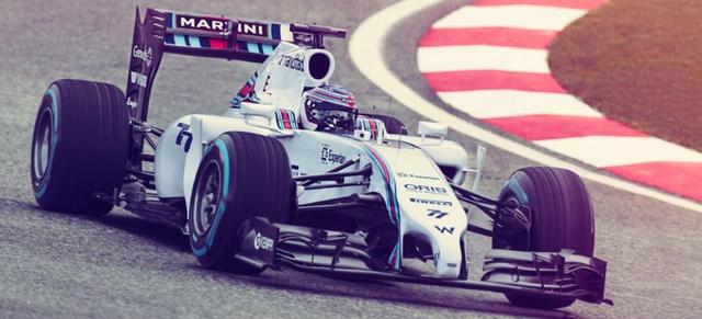Az új Williams Martini Mercedes