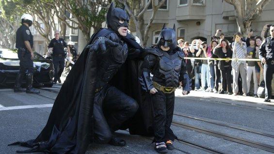 Batkid Superhero a l