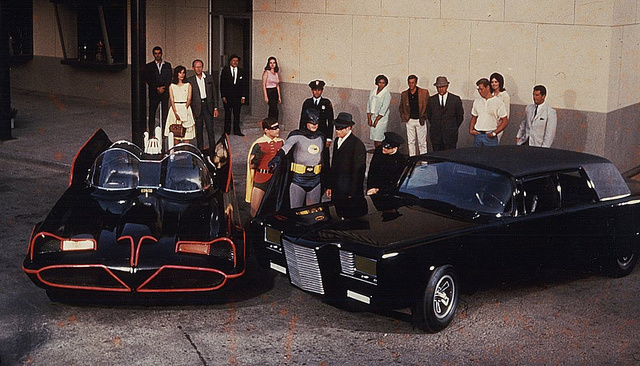 Batmobile és Black Beauty nagy találkozása
