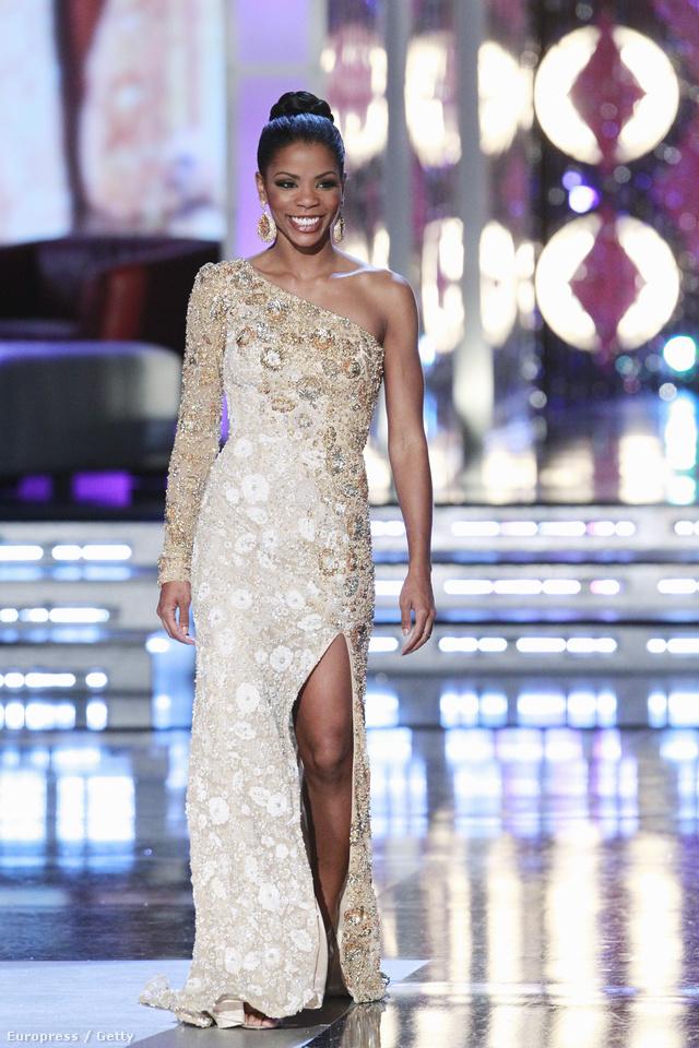 Djuan Trent 2011-ben, a Miss America szépségversenyen