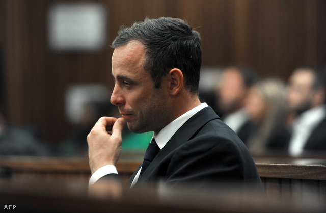Pistorius a tárgyalóteremben