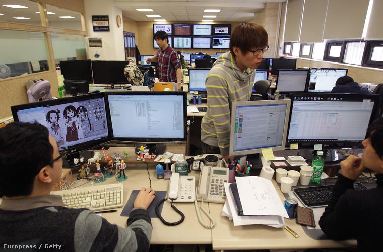 Kínai támadások elhárítására szakosodott, Dél-Koreát védő szakemberek irodája Szöulban
