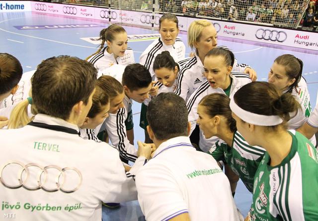 A győri csapat 31-29-re győzött ezzel csoportelsőként zárt.
