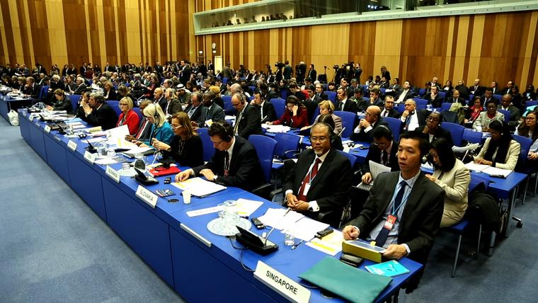 Diplomaták az ENSZ drogügyi közgyűlésén