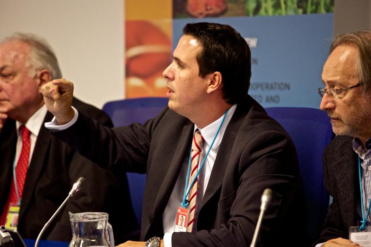 Diego Canepa, az uruguayi elnök kannabisz legalizációért felelős megbízottja