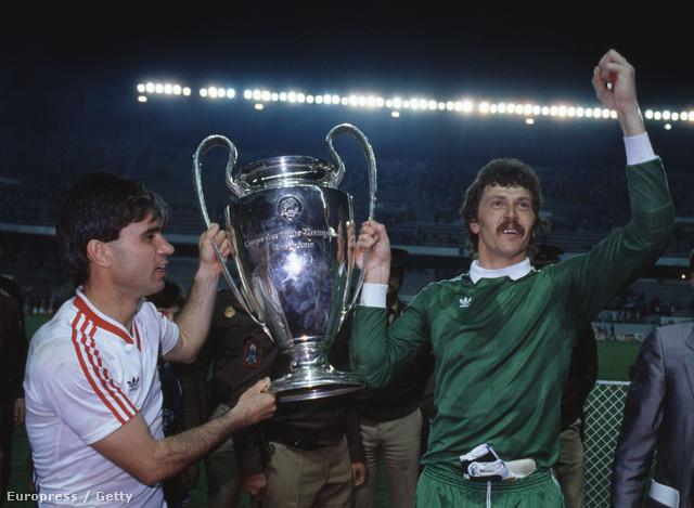 A Steaua 1986-ban 2:0-ra verte a Barcát