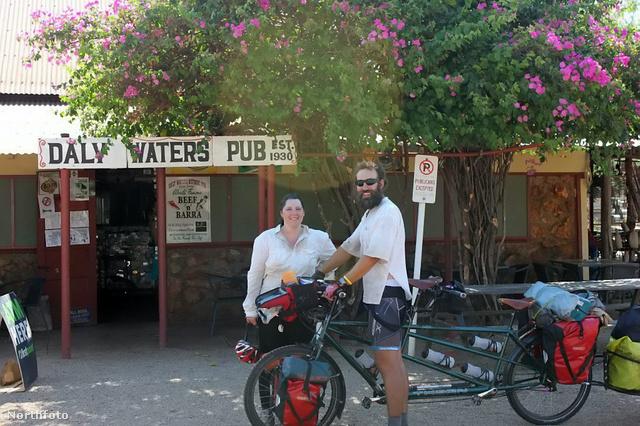 Daly Watersben, ami közép-Ausztrália északi csücskében van