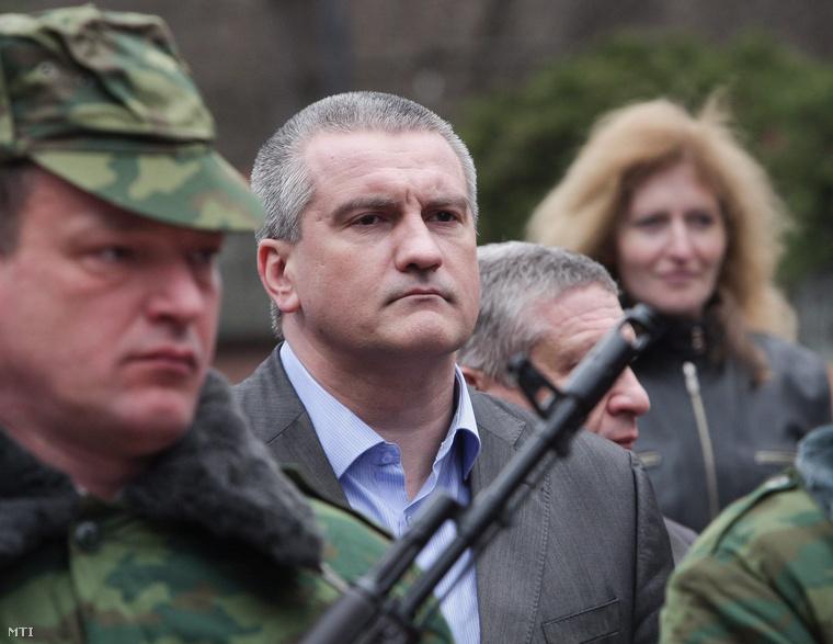 Szergej Akszjonov krími miniszterelnök