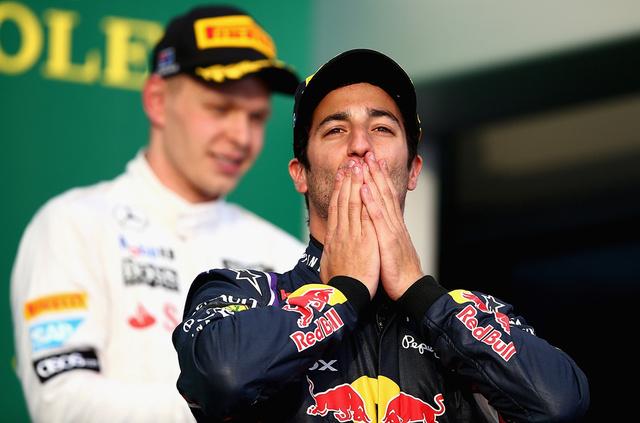 Hiába örült Ricciardo