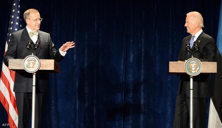 Toomas Hendrik Ilves és Joe Biden
