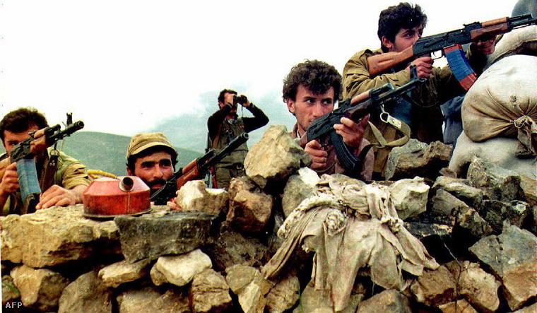 Fegyveresek Hegyi Karabahban, 1992-ben