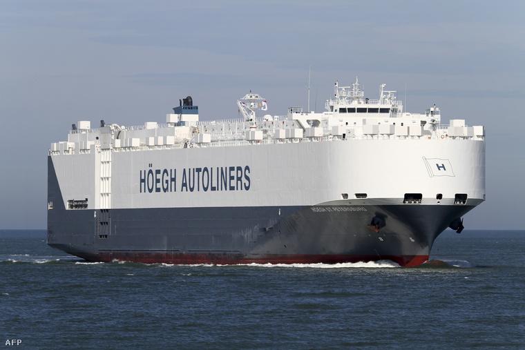 Ez a norvég szállítóhajó érkezett a helyszínre az ausztrál hatóságok kérésére