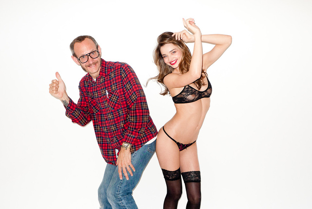 Terry Richardson és Miranda Kerr