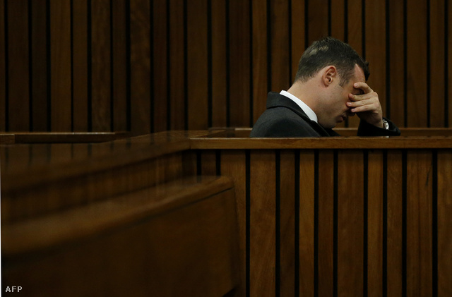 Oscar Pistorius a pretoriai bíróságon, 2013. március 5-én.