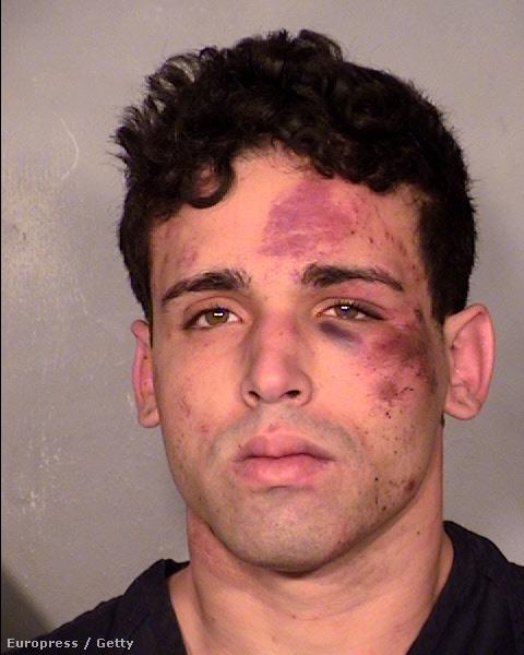 Annak a férfinak a rendőrségi fotója, aki betört a chippendale-esek öltözőjébe