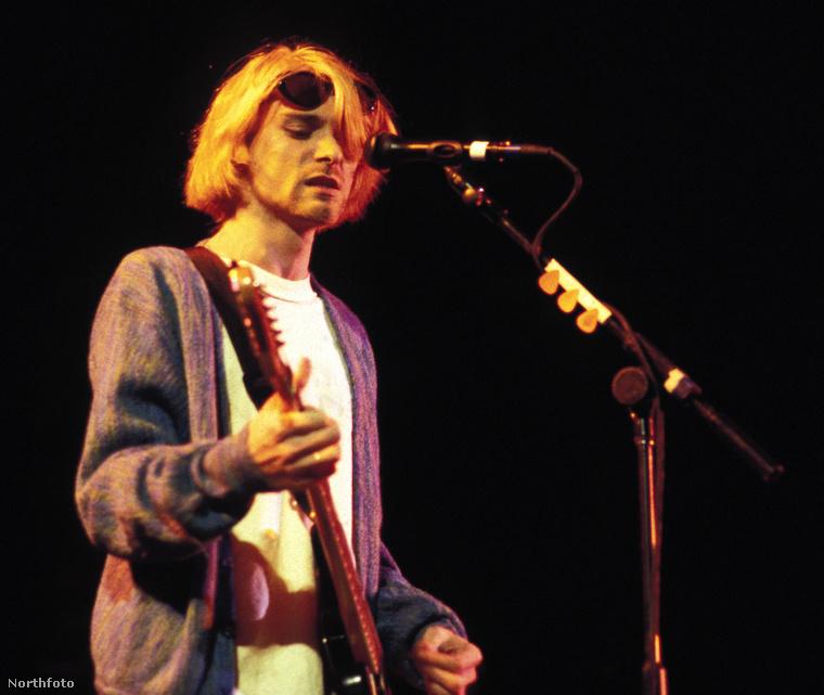 Kurt Cobain, 2004. április 5-én, Los Angelesben.