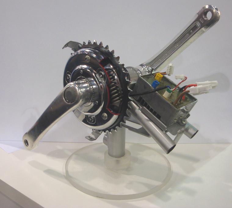 A magyar fejlesztésű eBike motorjának modellje