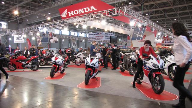 A Honda standon is kint voltak a legújabb modellek