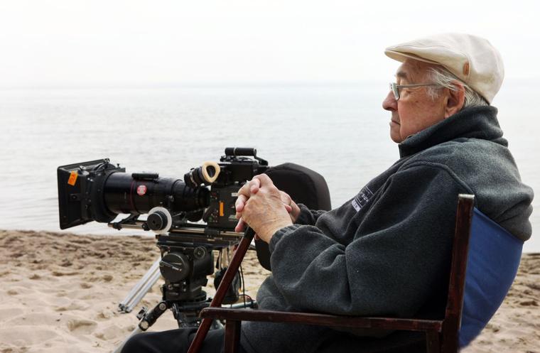 Andrzej Wajda a film forgatásán