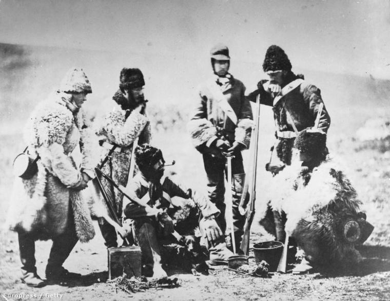 Angol katonák a krími háborúban