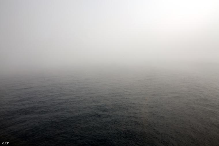 Felhős idő az Indiai-Óceán felett, azon a területen, ahol az elmúlt napokban a maláj gépet keresték