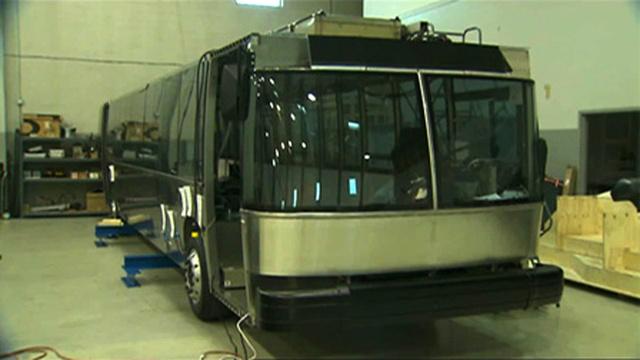 Eddig készült el a GTB-40 prototípusa. Ezután több fotó már nem látott napvilágot a készülő buszról