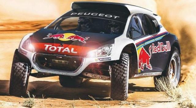 Valami ilyesmi lehet a Peugeot Dakar-prototípusa. Legkésőbb jövő janurában meglátjuk.