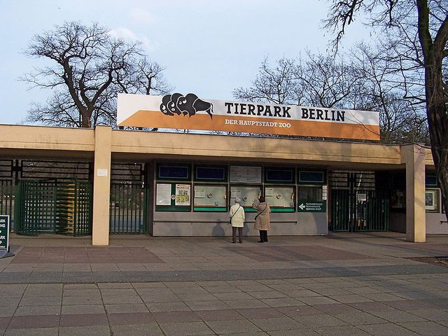 Tierpark Berlin - Main entry