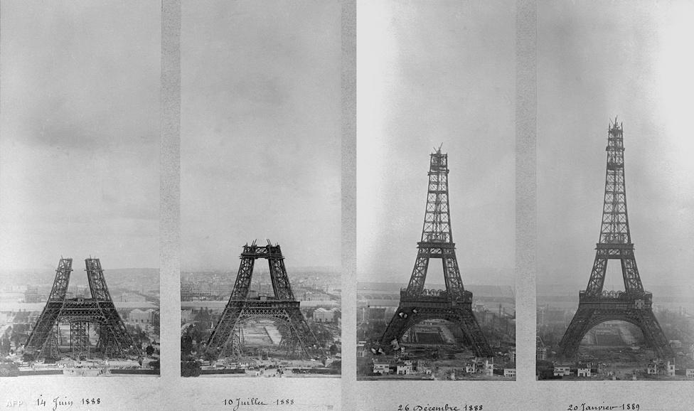A torony elképesztő sebességgel épült: havonta átlagosan 12 méterrel lett magasabb. A torony mindössze 26 hónap alatt készült el.