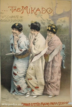 The Mikado Three Little Maids