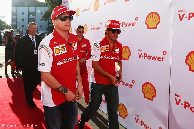 Raikkönen és Alonso