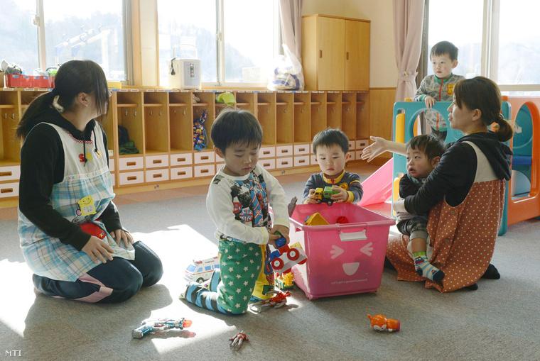 Életkép a tamurai óvodából
