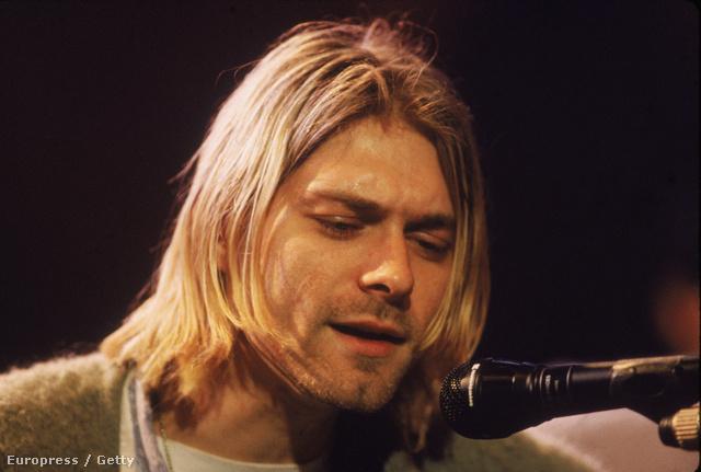 Kurt Cobain az MTV Unplugged című műsorában