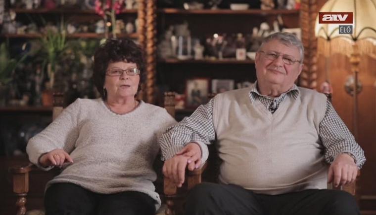 Mesterházy Attila szülei az ATV-n idén januárban
