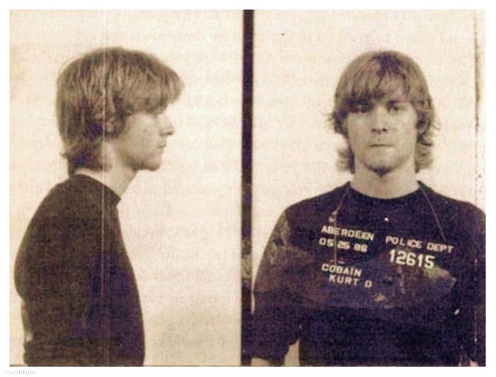 1986-ban tartóztatták le Aberdeenben illegális behatolásért és részegségért. Egyáltalán nem ez volt az első összetűzése a törvénnyel, már korábban is többször rendőrkézre került vandalizmusért.