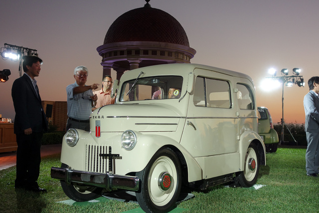 Tama Electric Car 1947-ből. Aztán a céget bekebelezte a Nissan