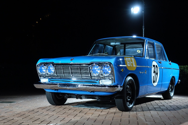 Ez még épp nem Nissan, hanem még a Prince Motors terméke. De már Skyline