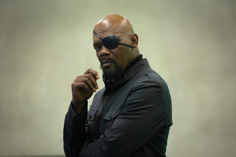 Amerika kapitány: Samuel L Jackson Nick Fury szerepében